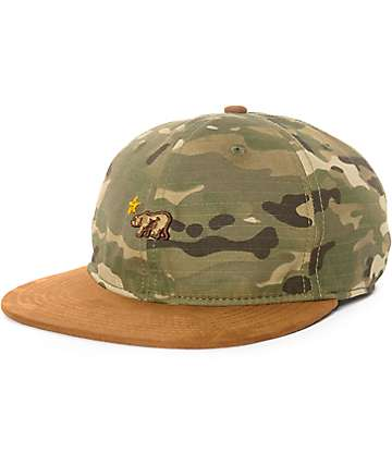 Official Dolo Camo Unstructured Snapback Hat