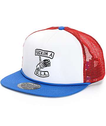 Official Fuckin A USA Trucker Hat
