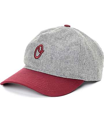 Official Miles Graduate Grey & Burgundy Baseball Hat