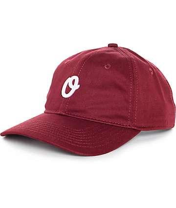 Official Miles Olo gorra béisbol en borgoña