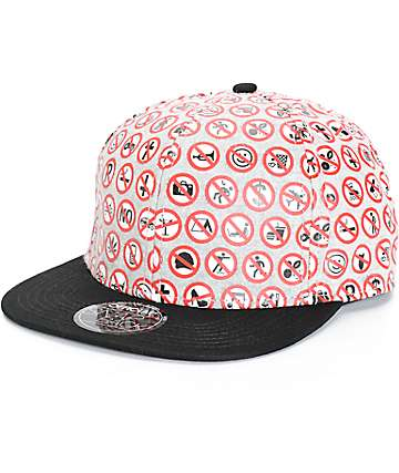 Official Stefan Janoski No Snapback Hat