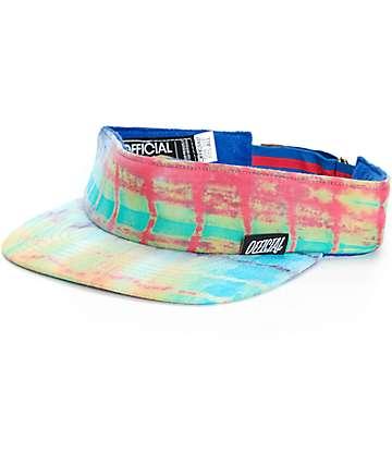 Official Tie Dye Strapback Visor