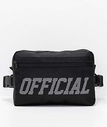 Official Utility Black Chest Bag