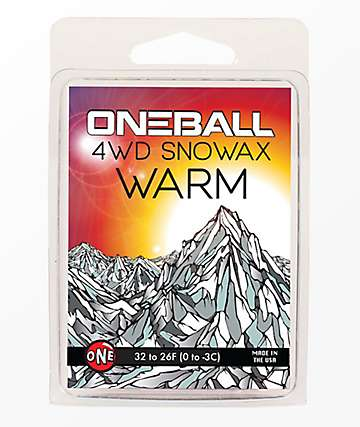 One Ball Jay 4WD Warm Snowboard Wax