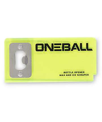 One Ball Jay Bottle Opener Scraper