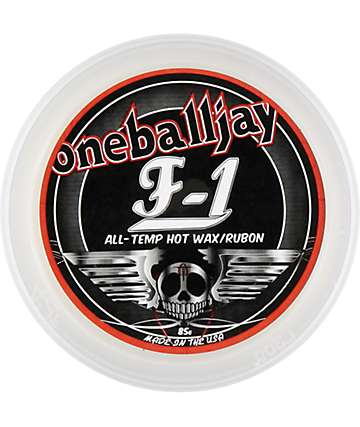 One Ball Jay F-1 Rub-On 85g Snowboard Wax