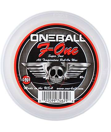 One Ball jay F-1 Rub On Wax