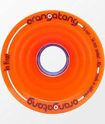 Orangatang In Heat 75mm 80a Orange Wheels