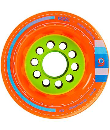 Orangatang Kegel 80mm Orange Longboard Wheels