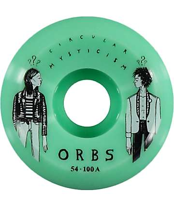 Orbs Fantasmas Side Cuts 54mm Skateboard Wheels