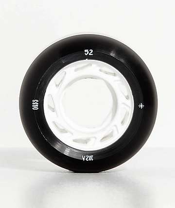 Orbs Ghost Lites 52mm Black Skateboard Wheels