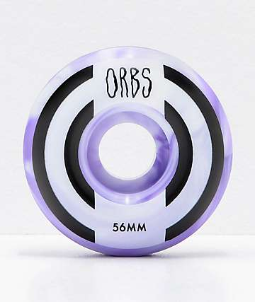Orbs Wheels Apparitions Swirl 56mm Skateboard Wheels