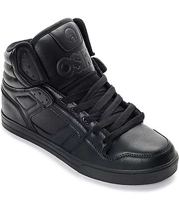 Osiris Clone Black Skate Shoes