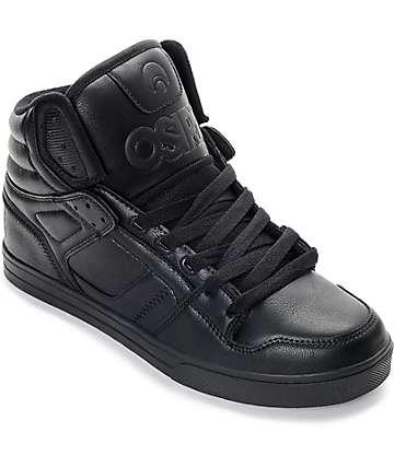 Osiris Clone zapatos negros de skate