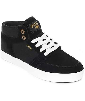 Osiris Helix zapatos de skate en blanco y negro