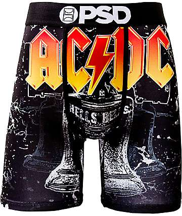 PSD ACDC Hells Bells Black Boxer Briefs