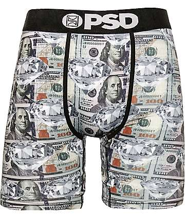 PSD Money Diamond Green Boxer Briefs