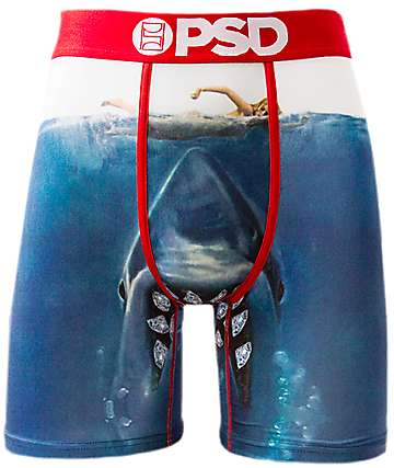 PSD Swim Blue Boxer Briefs