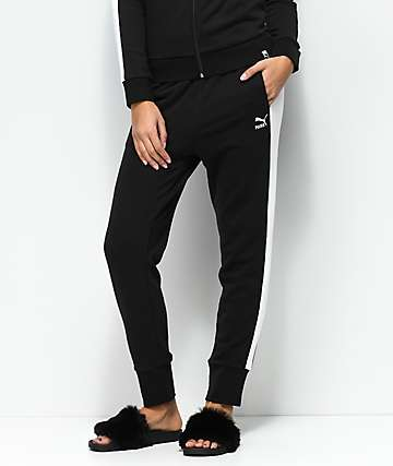 PUMA Archive Logo T7 Black Sweatpants