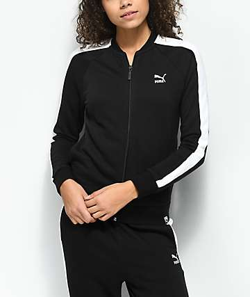 PUMA Archive Logo T7 Black Track Jacket