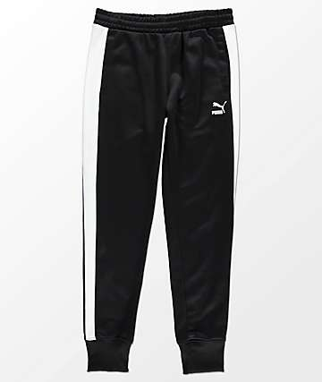 PUMA Archive T7 Black Track Pants
