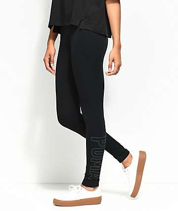 PUMA Black Athletic Leggings