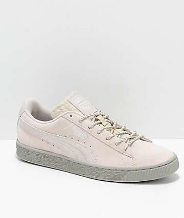 PUMA Suede Classic Birch & Grey Weatherproof Shoes