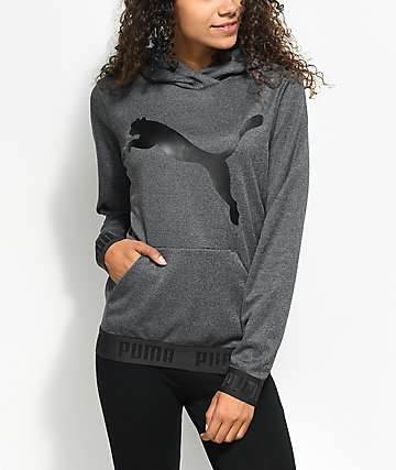 PUMA Urban Big Cat Charcoal Hoodie