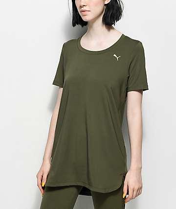 PUMA Velvet Rope túnica verde