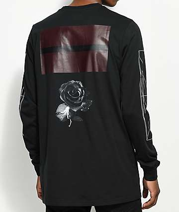 PUMA x Black Scale Open Bar Black Long Sleeve T-Shirt