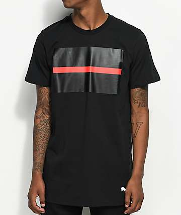 PUMA x Black Scale Open Bar Black T-Shirt