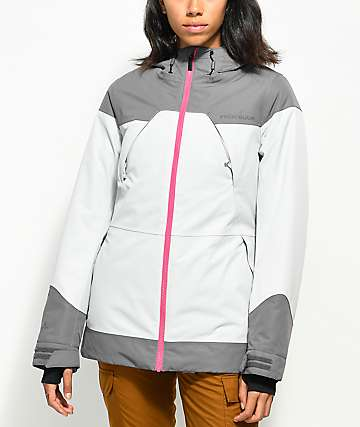 PWDR ROOM Heartland Grey 10K Snowboard Jacket