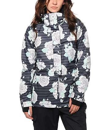 PWDR Room Park Floral 5K Snowboard Jacket
