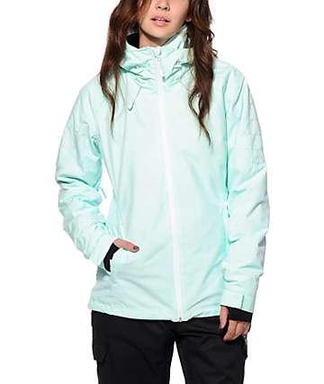PWDR Room Phantom Mint 10K Snowboard Jacket