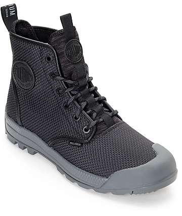 Palladium Pampatech HI TX All Black Boots
