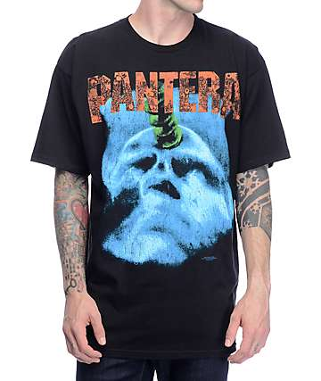 Pantera World Tour Black T-Shirt