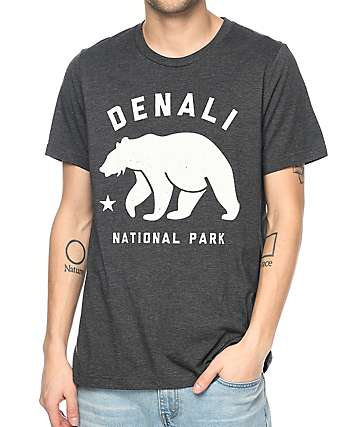 Parks Project AK Denali Charcoal T-Shirt