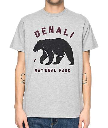 Parks Project AK Denali Heather Grey T-Shirt