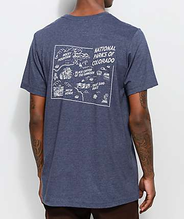 Parks Project CO National Park Navy T-Shirt