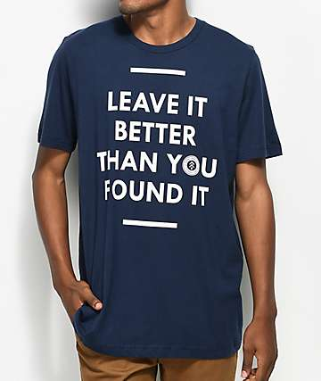 Parks Project Leave It Better camiseta en azul marino