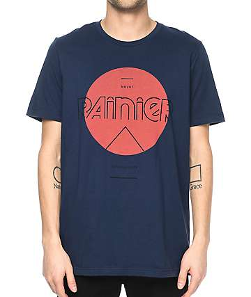Parks Project WA Rainier Mod Sun Navy T-Shirt
