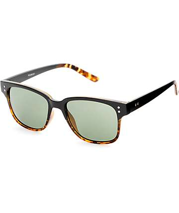 Peabody Black & Tortoise Shell Fade Classic Sunglasses