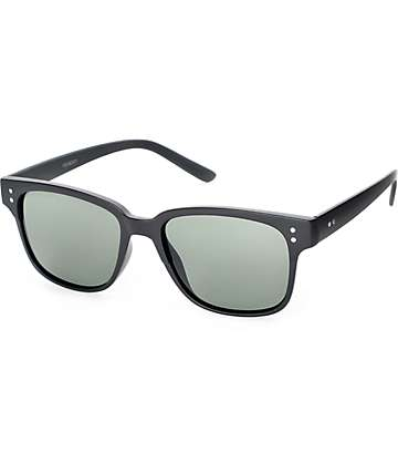 Peabody Thin Black Classic Sunglasses