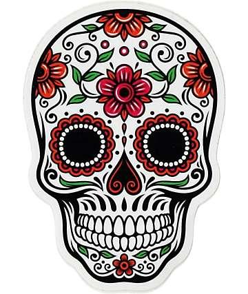 Pegatina Día de los Muertos