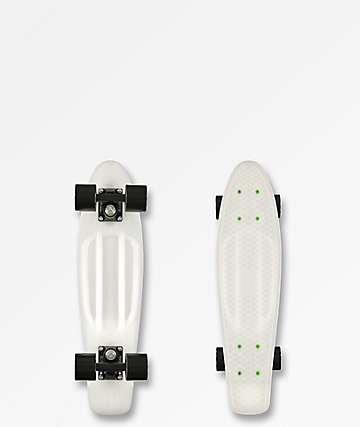 "Penny 22.5"" tabla de skate cruiser completo claro"