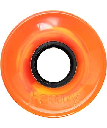 Penny 59mm Orange Plasma Cruiser Wheels