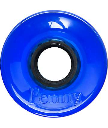 Penny 59mm Translucent Blue Cruiser Wheels
