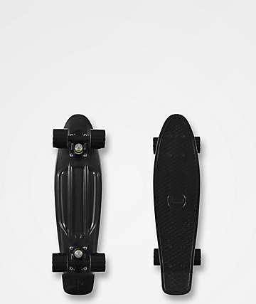 "Penny Blackout 22.5"" tabla de skate cruiser completo"