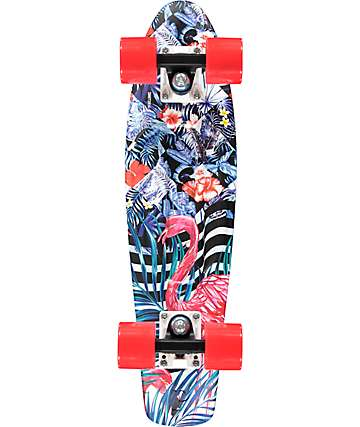 "Penny Flamingo Forest 22"" cruiser completo skate"