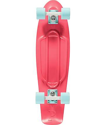 "Penny Nickel 27"" Watermelon Cruiser Complete Skateboard"